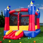 Multiple bounce house rentals are available.